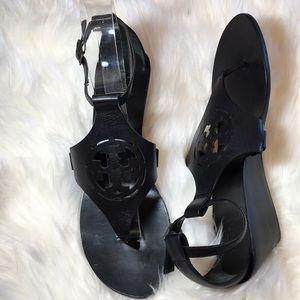 NWOB Tory Burch Zoey Black Sandals